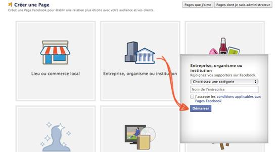 5 conseils pour cr er une page facebook entreprise for Creer une entreprise qui rapporte