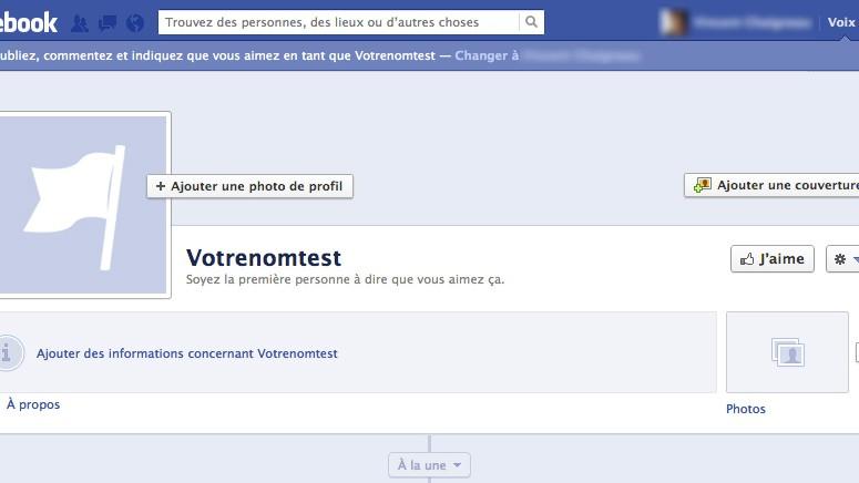 Image: créer une page facebook entreprise